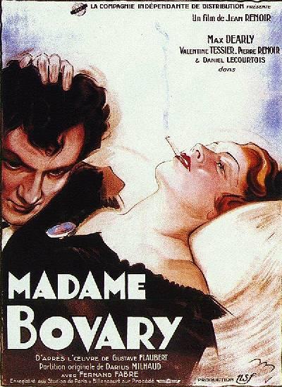 Gustave Flaubert - Madame Bovary - Versiones cinematográficas