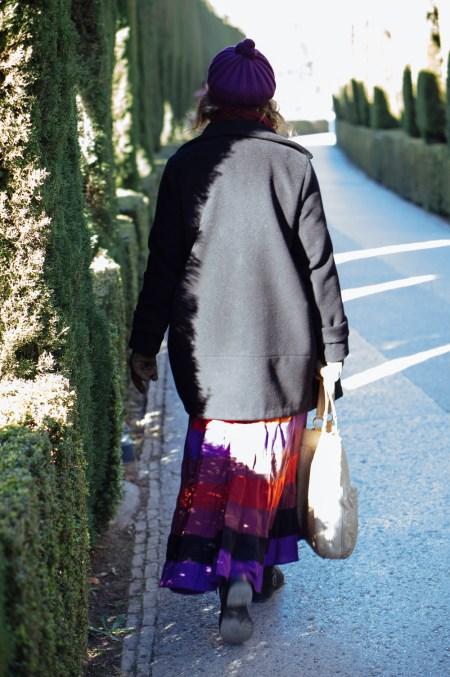 Emma Rodríguez en la Alhambra. Nacho Goberna © 2015