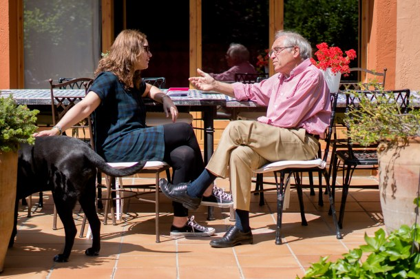 José Álvarez Junco, Emma Rodríguez y Lola, por Nacho Goberna © 2015