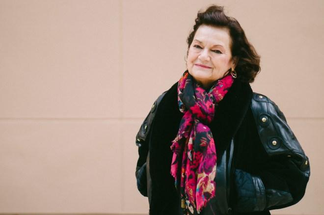 La historiadora francesa Elisabeth Roudinesco, autora de la biografía