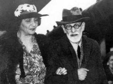 Freud con Marie Bonaparte