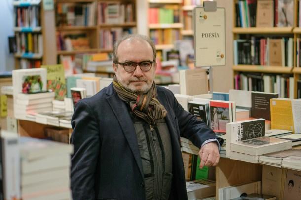 Manuel Borrás (editorial Pre-textos). Fotografía por Nacho Goberna © 2016