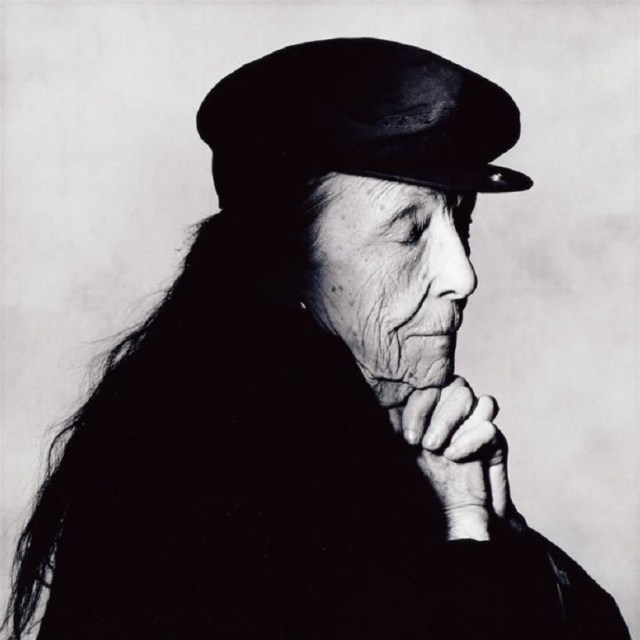 Louise Bourgeois © Irving Penn