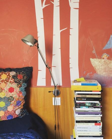 El rincón de lectura de Nuria Labari - Fotografía por Karina Beltrán © 2016