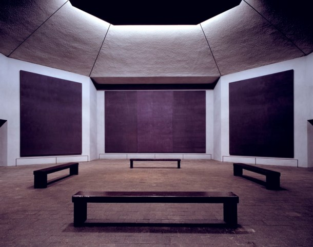 Rothko Chapel en Houston, Texas, USA.