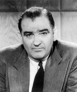 El senador Joseph McCarthy