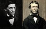 Emerson y Thoreau, amistad, naturaleza, trascendentalismo