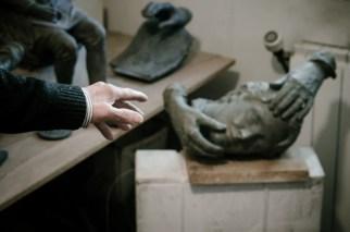 El escultor Julio López Hernández / © Nacho Goberna