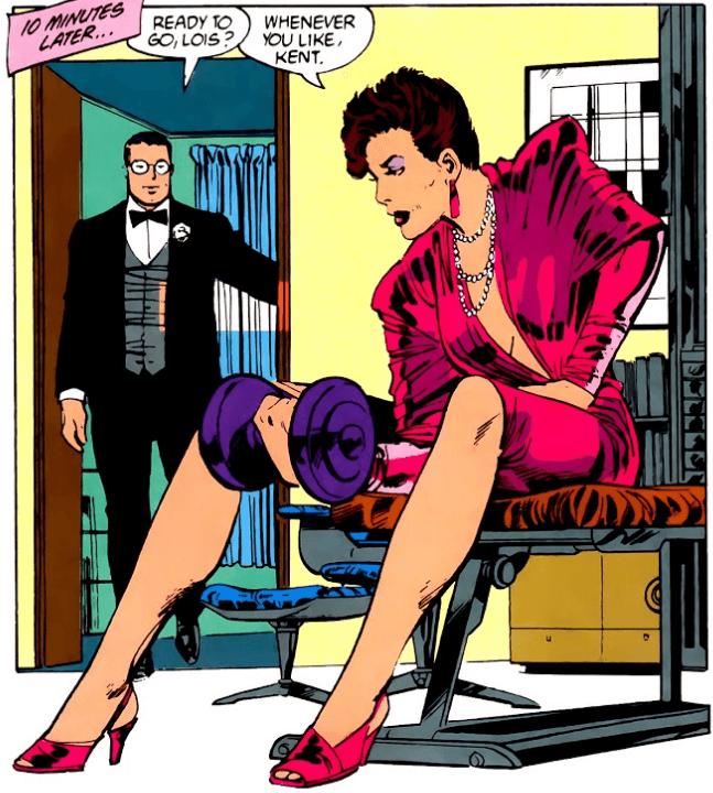 Le personnage de Lois Lane est assez étonnant !