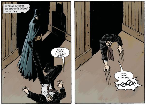 La peur qu'inspire Batman