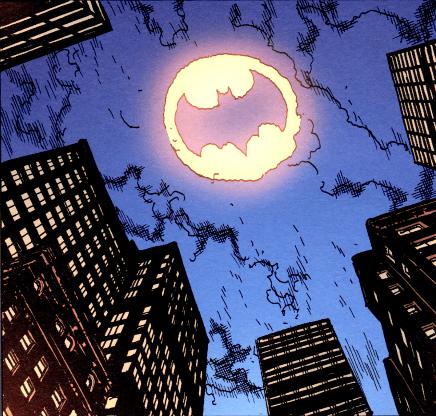 Le vrai Batsignal !