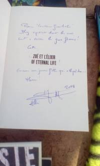 Zoé et l'élixir of eternal life - Hervé Jubert et sa fille