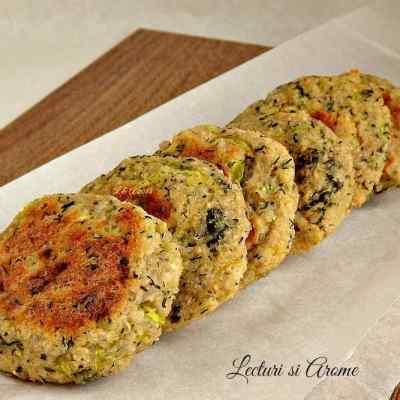 Chiftelute cu quinoa si dovlecel (la cuptor)