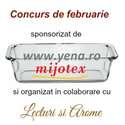 "Concurs de februarie – ""Gateste sanatos in vase de yena"""