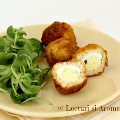 Oua scotiene (scotch eggs)