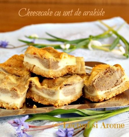 cheesecake cu unt de arahide