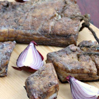 Cum sa faci slanina afumata de casa (metoda rapida)
