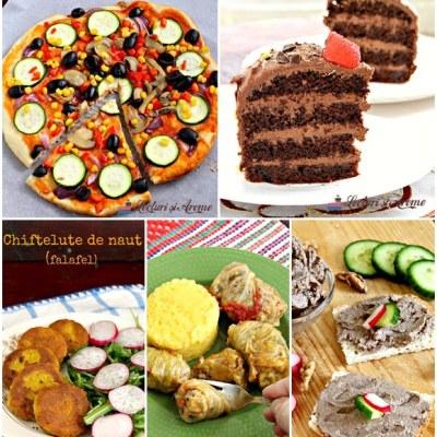 Ce poți pregăti pentru un meniu festiv de post (vegan)
