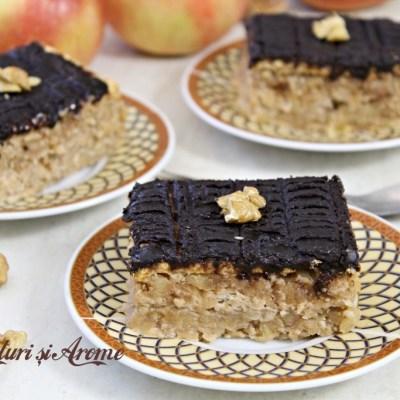 Prăjitură cu mere și biscuiți. FĂRĂ coacere și de post!