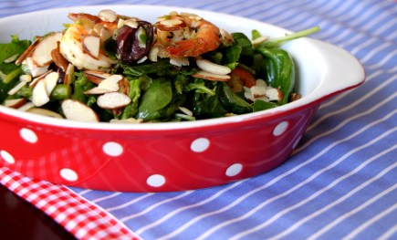 Salad with shrimps 2