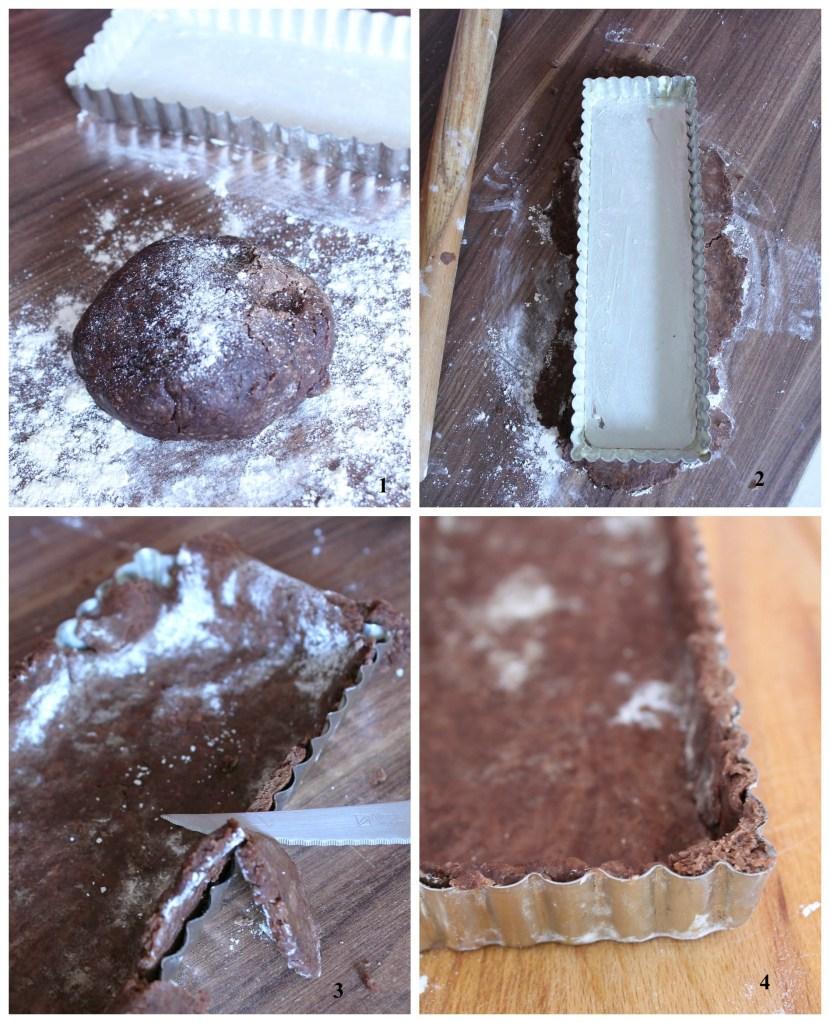 pâte à tarte au chocolat