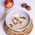 Fondant au potimarron et aux cacahuètes