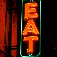Word Mystery: eat / comer / manger