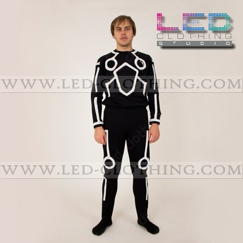 waterproof tron led costume