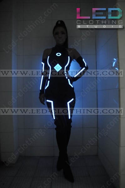 tron legacy led costume
