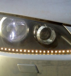 installing led strip lights is not easy but you will be completely satisfied with the result insert in the rear light is not any difficulties  [ 1500 x 920 Pixel ]