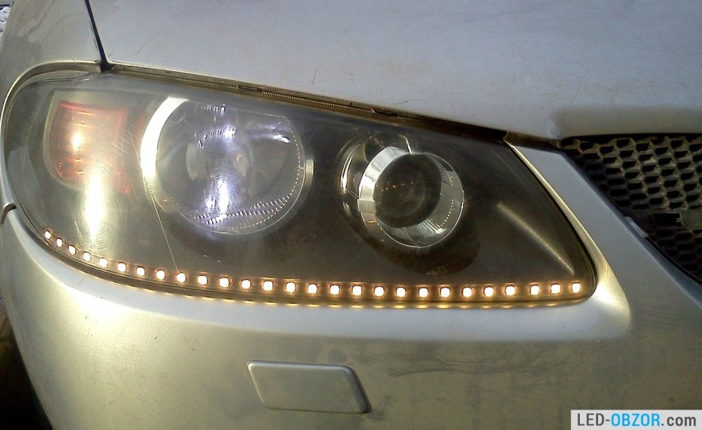 medium resolution of installing led strip lights is not easy but you will be completely satisfied with the result insert in the rear light is not any difficulties