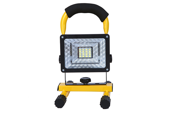 電池式LED投光器