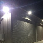 50w LED投光器 屋外倉庫使用事例