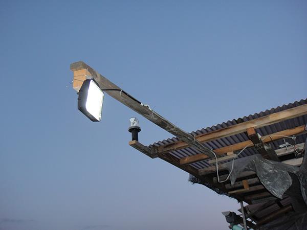 15wLED作業灯 設置写真