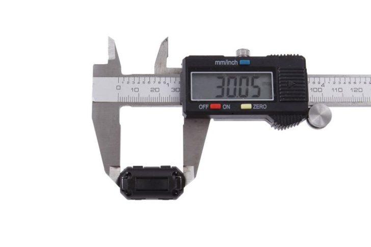 フェライトコア サイズ計測