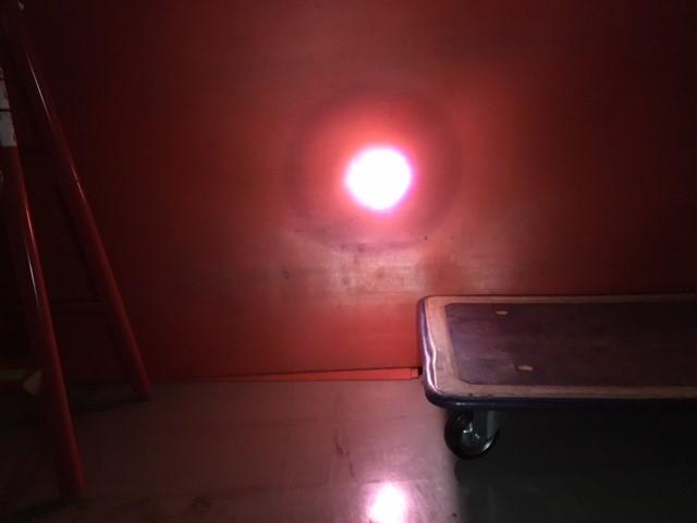 ヘッドライト点灯(ズーム時)