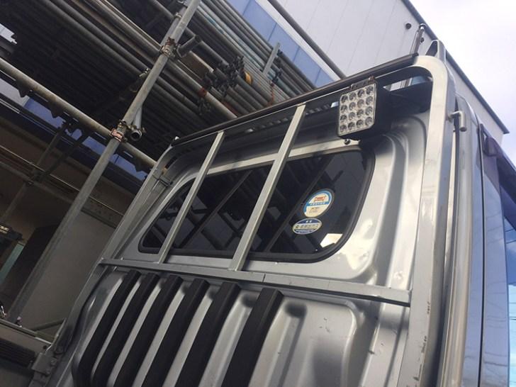 軽トラ作業灯・48w設置写真