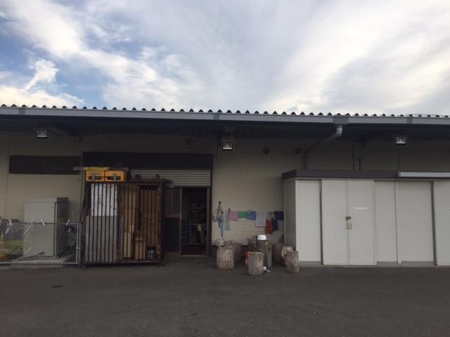 倉庫・投光器(50w)設置状況