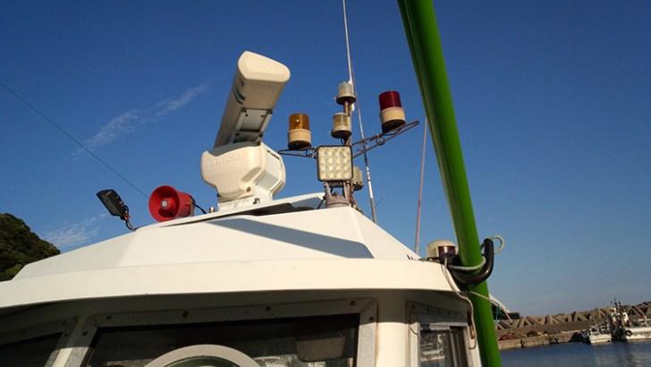 漁船・48wLED作業灯設置事例