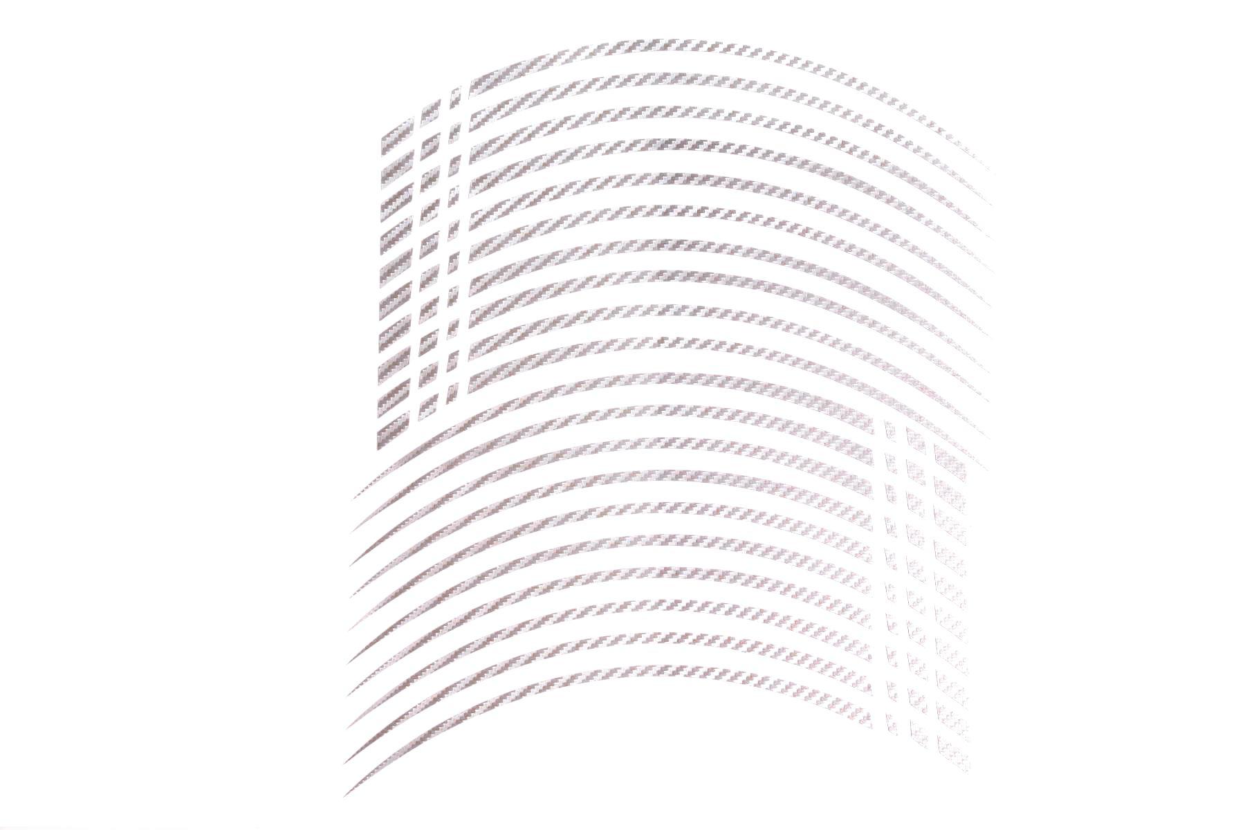 Gp2 20 Felgenaufkleber In Der Farbe Carbon Silber