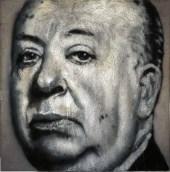 Alfred, 2014 Acrylic Spray on steel wool on steel