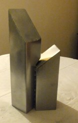 Giants 3, 2014 Steel 46cmx21cmx12.5cm