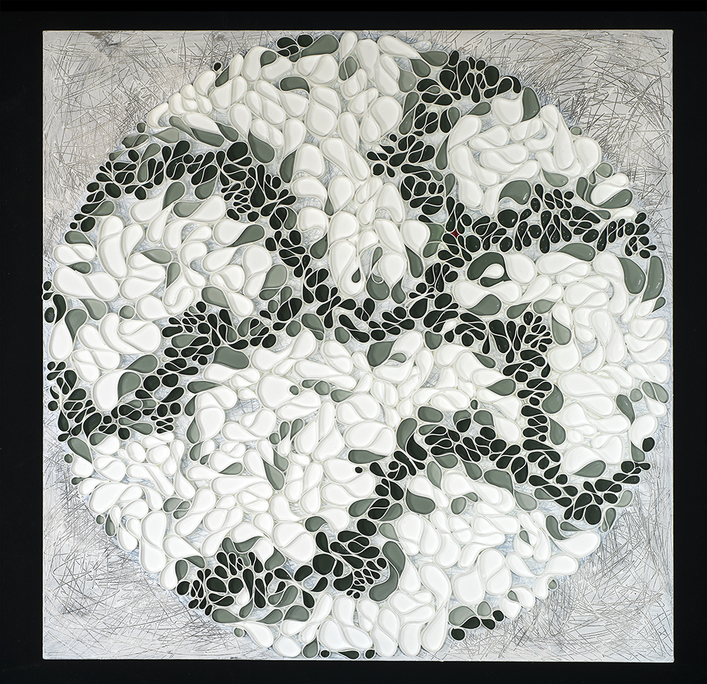 Brian Huber_Parkroad (Braided series)_91x91cm