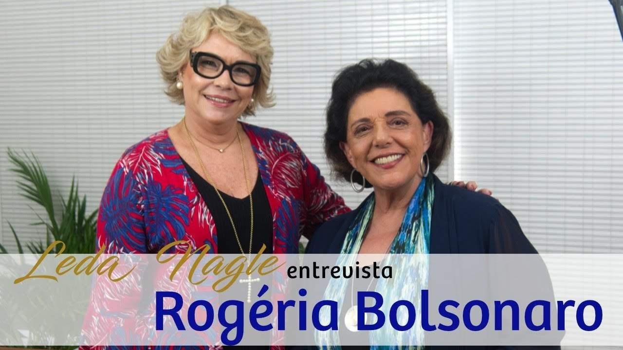 ROGÉRIA BOLSONARO A MÃE DOS IRMÃOS BOLSONARO: FLAVIO, EDUARDO E CARLOS   LEDA NAGLE