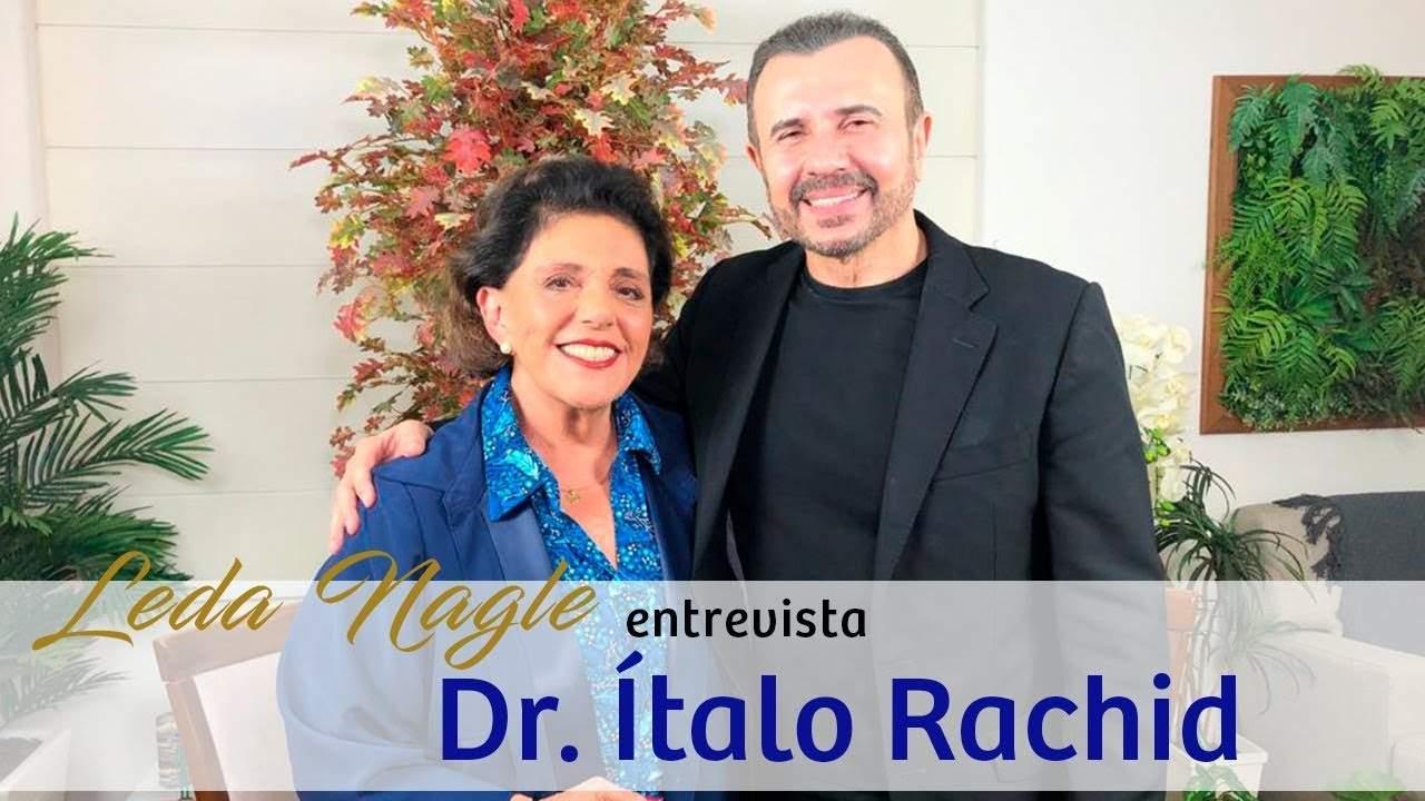 QUEM DORME DEPOIS DAS 23 HORAS ESTÁ SE MATANDO: DR. ITALO RACHID   LEDA NAGLE