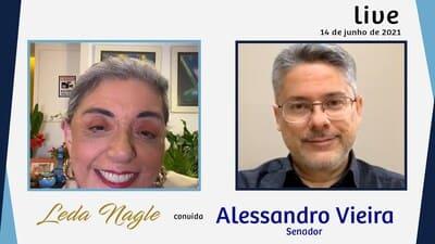 SENADOR ALESSANDRO VIEIRA ; CPI NAO CONDENA NEM PRENDE NEM FAZ IMPEACHMENT