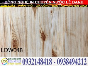 Màng in vân gỗ LDW048