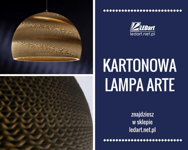 Lampy z kartonu LEDart Kraków