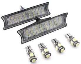 Set Plafoniera LED Auto Fata dedicata BMW E60, E65, E87 - BTLL-078