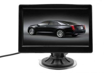 """Display auto LCD 4.3"""" D701 cu ventuza pentru parbriz"""